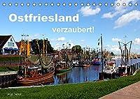 Ostfriesland verzaubert! (Tischkalender 2022 DIN A5 quer): Die rauhe Schoenheit Ostfrieslands eingefangen in ausdrucksvollen Bildern (Monatskalender, 14 Seiten )