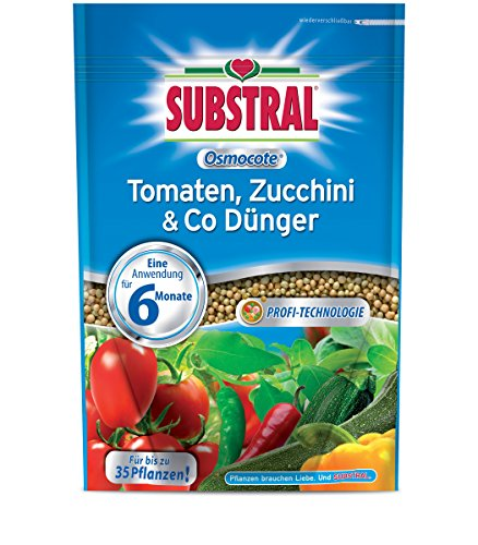 Substral Osmocote Tomaten, Zucchini & Co Dünger - 750 g