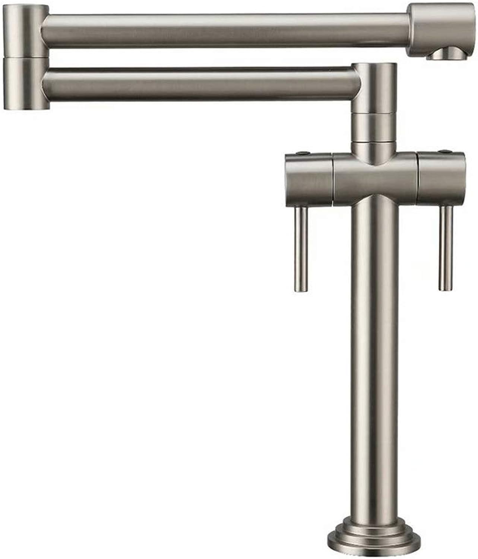 Küchenarmatur Wasserhahn- Küchen Wasserhahn     360° Schwenkbare Küchenarmatur Mit Temperaturanzeige     Armatur Küchenspüle Hochdruck Edelstahl Spülbecken Mischbatterie (Farbe   The drawing)