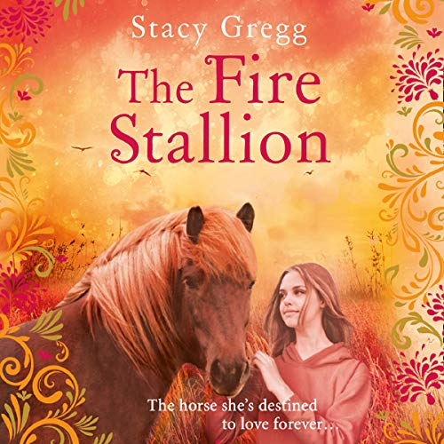 The Fire Stallion audiobook cover art