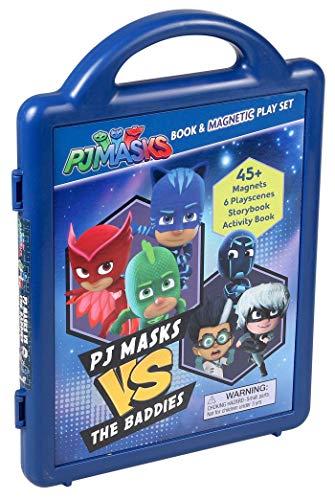 PJ Masks: PJ Masks vs the Baddies (Magnetic Play Set)