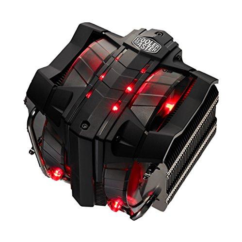 Cooler Master V8 Ver.2 - Ventilador de PC, Procesador, Enfriador, Socket AM2, Socket AM3, Socket AM3, Socket AM3+, Socket FM1, Socket FM2, Socket FM2+, LGA 1151, 14 cm, 600 RPM, 1600 RPM