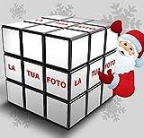 IlTuoCubo.com Natale Cubo Magico con Foto Idea Regalo Originale Personalizzato