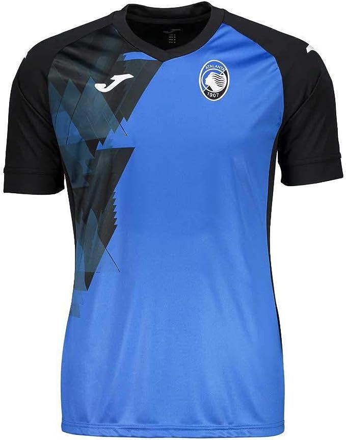 Joma T-Shirt D'ALLENAMENTO Atalanta 2020-21 Azzurro Licenza Ufficiale Calze