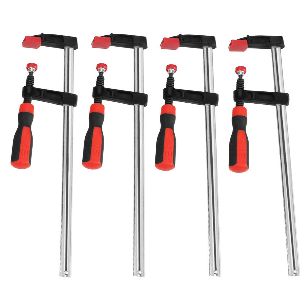 Woodworking F Clamp 4Pcs Fees free Heavy Safety and trust Duty Clamps Quick Clips Sli Bar