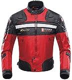 BORLENI Chaqueta de moto a prueba de viento motocicleta armadura de equipo de protección...