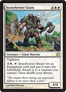 Magic: the Gathering - Stonehewer Giant (31) - Modern Masters