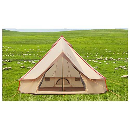 Anti-UV,SpaciousZelt, Großraum Mongolei Yurt Zelte Outdoor Familie Camping Wasserproof Windproof 5-8 Person Festival Zelt,1,400 * 400 * 250cm