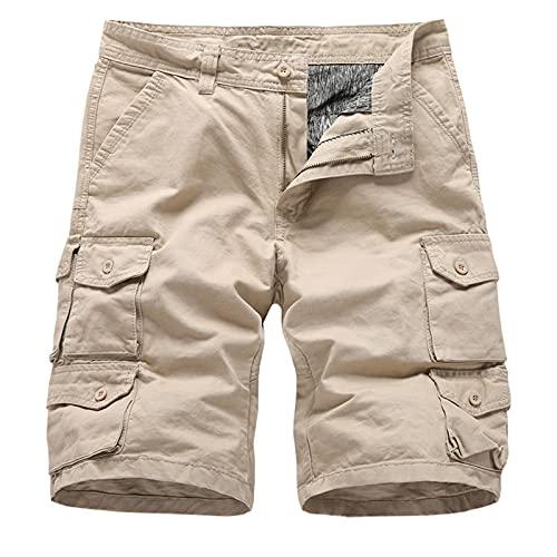 Nuevo 2021 Pantalones Cortos Hombre Verano Casual Moda trabajo Corta Pantalones Pants Deporte Jogging Pantalon Fitness Chandal Hombre Ropa de hombre Cómodo Talla grande playa Pantalones de Trekking