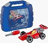 Theo Klein 8013 - Grand Prix Koffer, Auto-Reparatur-Set mit Werkzeug, 10-teilig