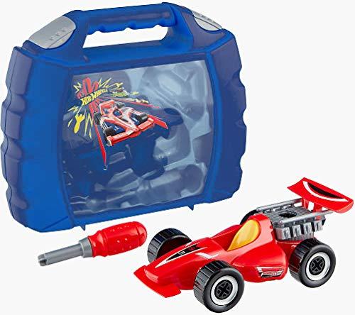 Theo Klein 8013 - Grand Prix koffer, autoreparatieset met gereedschap, 10-delig