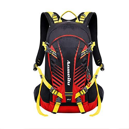 MountRise-Bags - Mochila de ciclismo con cubierta para la lluvia,transpirable, ligera,resistente al...