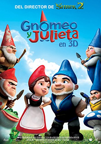 Gnomeo y Julieta (Combo BR + DVD) [Blu-ray]