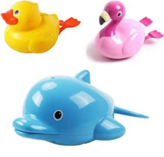 Baby Bath Toy Floating Baby Bath Swimming Tub Pool Toy Cute Animal Bathing Animal Bath Toy Bathtub Shower Toy for Kids Boy...