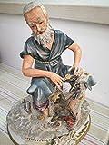 Capodimonte Collection Blue Cross figurine
