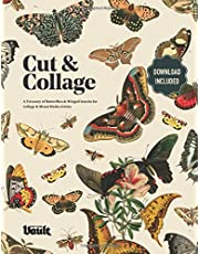 Cut and Collage: A Treasury of Butterflies and Winged Insects for Collage and Mixed Media Artists