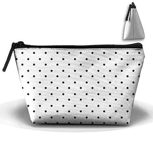 Polka Dot Paper Portable Makeup Receive Bag Storage Large Capacity Bags Hand Travel Wash Bag