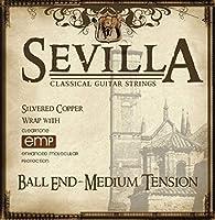 [SEVILLA] セヴィラ クラシックギター弦 レギュラーテンション BALL END コーティング弦