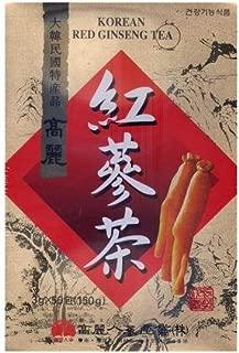 高麗 紅参茶(紙箱)50包