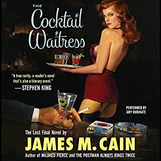 The Cocktail Waitress audiobook cover art