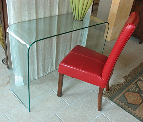 Maison Tavolino consolle Cristallo curvato Prezzo Outlet - Arredo Design SCONTATO Online