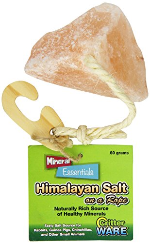 Ware Manufacturing Himalayan Salt On A Rope Small Pet Chew Treat