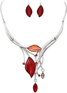 leaf design jewellery