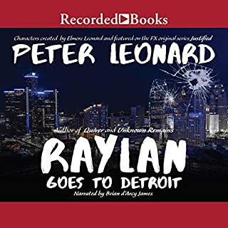 Raylan Goes to Detroit audiobook cover art