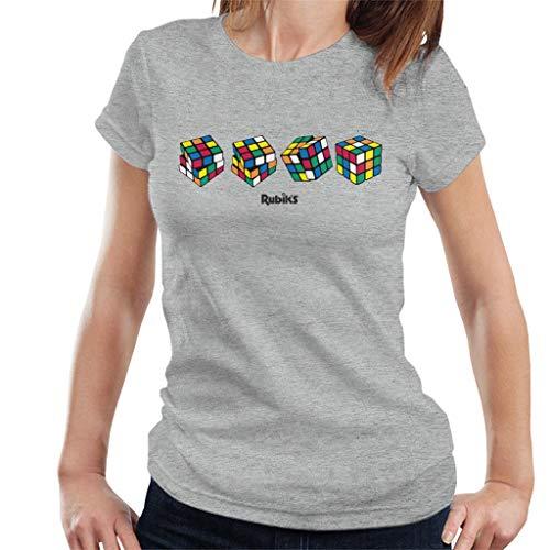 Rubik's 4 Cubes Women's T-Shirt