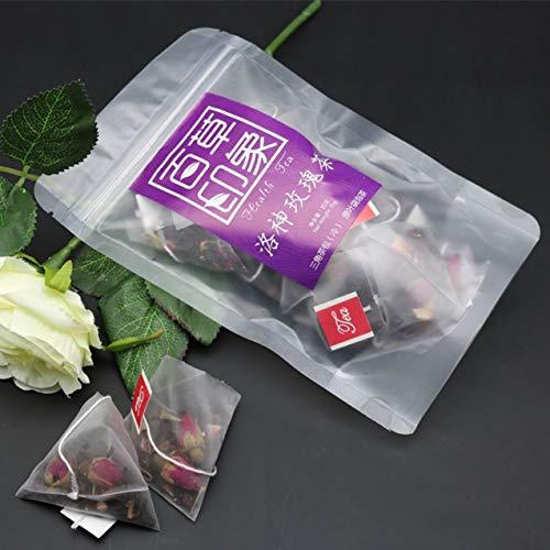 Zhou-YuXiang Luoshen Rose Tee Dreieck Beutel Teebeutel
