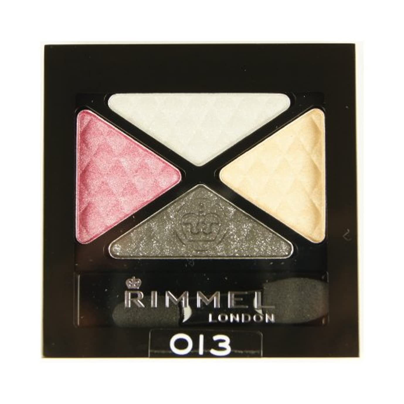 姿勢効果匹敵します(6 Pack) RIMMEL LONDON Glam Eye Shadow Quad - Sweet Smoulder (並行輸入品)