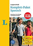 Langenscheidt Komplett-Paket Spanisch: Sprachkurs mit 2 Büchern, 7 Audio-CDs, MP3-Download, Software-Download: Sprachkurs für Einsteiger und Fortgeschrittene