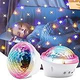 LED Sternenlicht Projektor, Projektor Sternenhimmel Lampe Kinder Nachtlicht Baby Sterne Lampe, USB Verbindung für Baby Kinder Schlafzimmer, Haus Dekoration