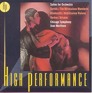 Bartók: The Miraculous Mandarin - Hindemith: Nobilissima visione - Varèse: Arcana
