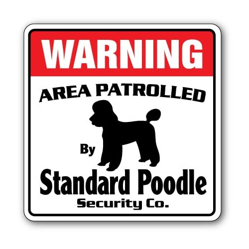 """LABRADOODLE Plastic Street Signs 18/""""x6/"""" Dogs Decorations Gifts Pet Lovers Signs"""