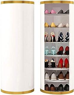 Étagère à Chaussures 7 Niveaux Étagère à Chaussures Grand 360 ° Rotation Étagère à Chaussures Organisateur Étagère à Chaus...