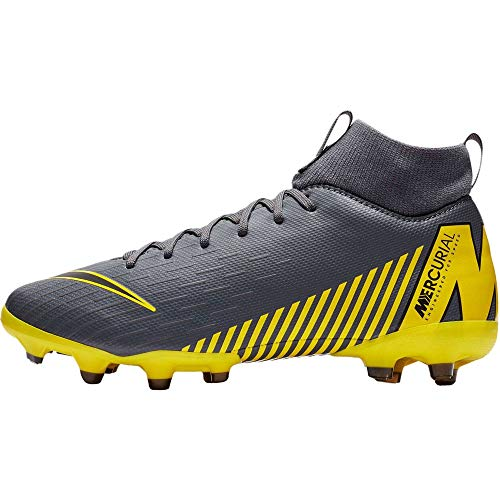 Nike Superfly 6 Academy MG Fußballschuhe, Grau (Dark Grey/Black/Dark Grey 070), 38.5 EU