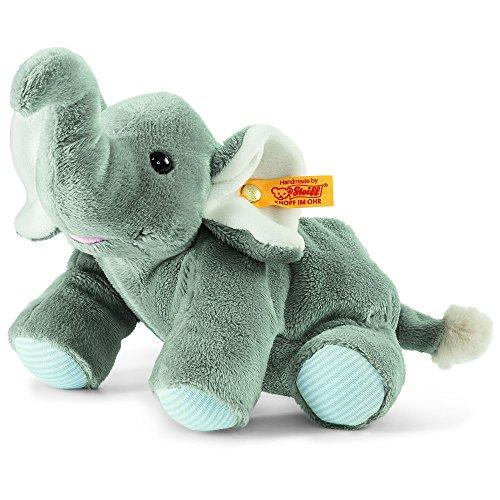 Steiff 238987 - Trampili Elefant Wärmekissen, Plüschtier, 22 cm, grau