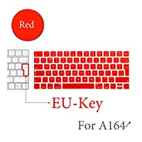 BluetoothワイヤレスキーボードMLA22LL / A1644 For MacキーボードカバープロテクターシリコーンカバーUS/EUバージョン-EU-Key-D-