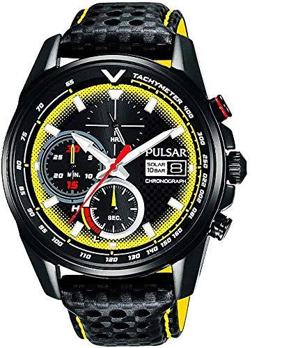 【セット商品】[パルサー] セイコー SEIKO パルサー PULSAR ソーラークロノグラフ腕時計 WRC限定モデル PZ6041X2 &マイクロファイバークロス 13×13cm付き[並行輸入品]