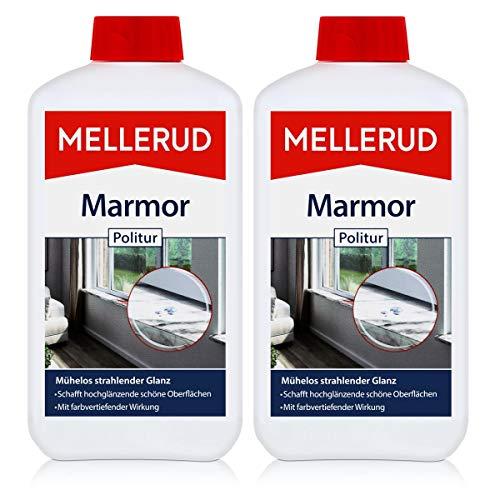2x Mellerud Marmor Politur 500 ml - Vertieft Farbe und frisch auf