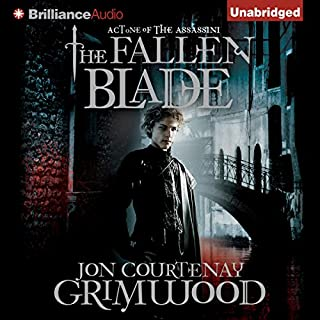The Fallen Blade audiobook cover art