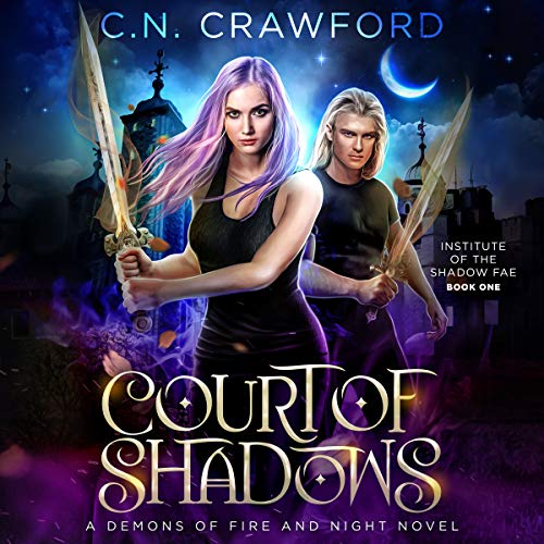 Page de couverture de Court of Shadows: A Demons of Fire and Night Novel