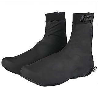 Funda para zapatos de ciclismo, cubierta cálida para zapatos de montar en bicicleta, impermeable, forro polar térmico cáli...