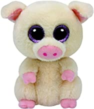 "TY Beanie Boos Piggley – Pig Stuffed Animal, 6"" – Cute Plush with.."