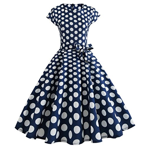 DIANA'S Dress, Women Vintage Bodycon Short Casual Retro Evening Party Prom Swing