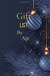 Gift list by age