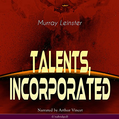 Talents, Incorporated audiobook cover art