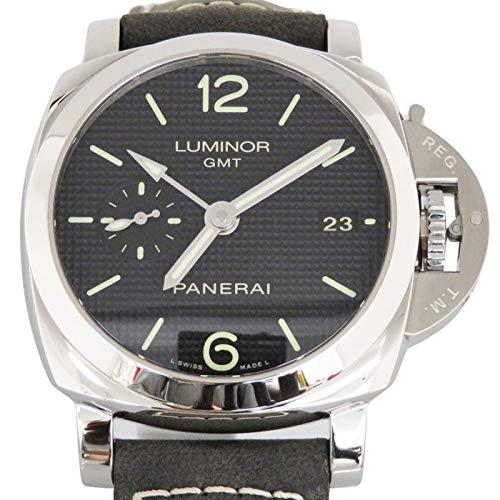 パネライ PANERAI ルミノール1950 3デイズ GMT アッチャイオ PAM00535 新品 腕時計 メンズ (W162431) [並行...