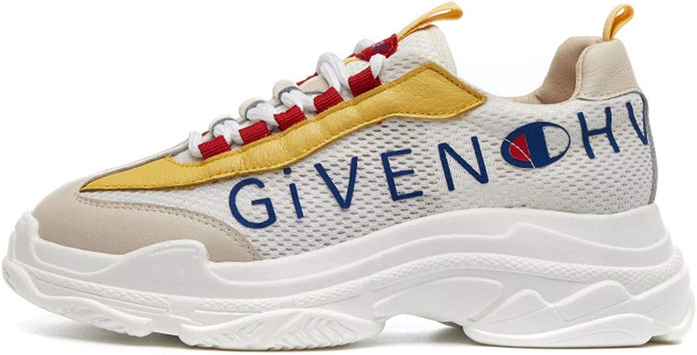 Newnorthstar Fashion Women Sneakers Mesh Female Casual Sneakers Thick Sole Women Platform Sneakers h-509